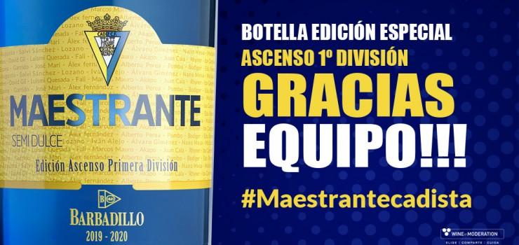 Maestrante edición especial Ascenso Primera Cádiz
