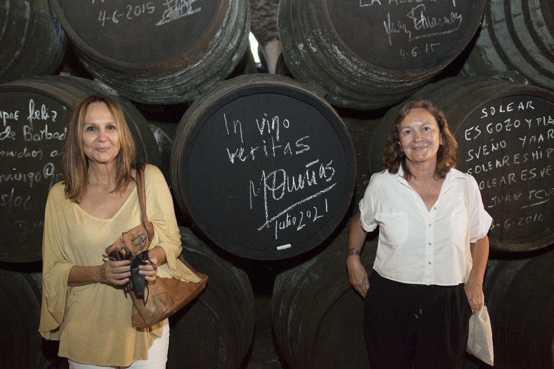 Las escritoras María Dueñas y Clara Sánchez visitan Barbadillo